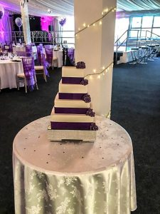 wedding cake in worthing
