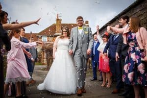 Married Couple at Selden Barns in West Sussex